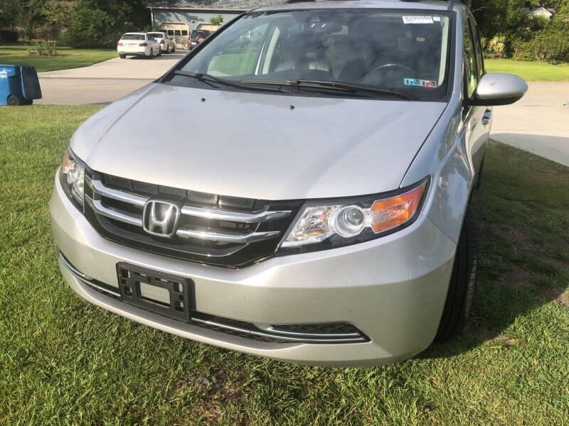 2014 Honda Odyssey for sale at County Line Car Sales Inc. in Delco NC