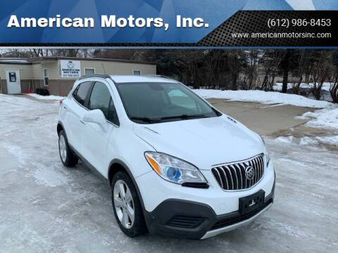 2016 Buick Encore for sale at American Motors, Inc. in Farmington MN