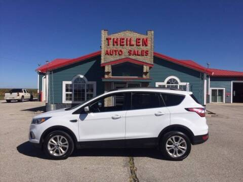 2018 Ford Escape for sale at THEILEN AUTO SALES in Clear Lake IA