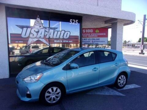 2014 Toyota Prius c for sale at USA Auto Inc in Mesa AZ