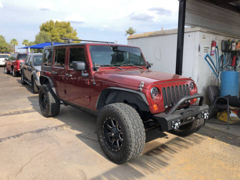 2007 Jeep Wrangler Unlimited for sale at Valley Auto Center in Phoenix AZ