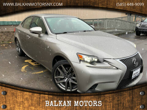 2015 Lexus IS 250 for sale at BALKAN MOTORS in East Rochester NY