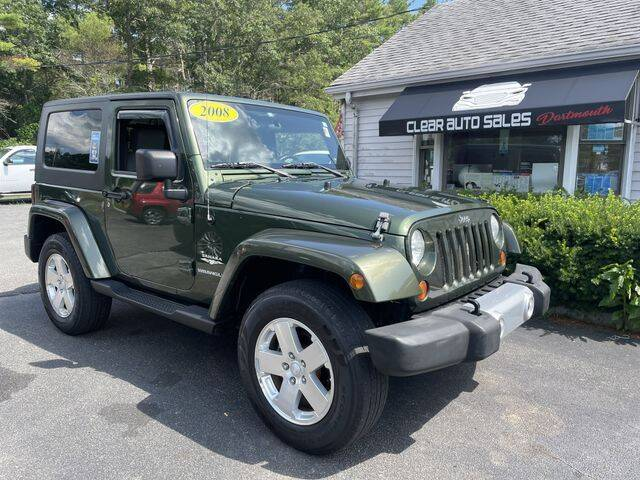 2008 Jeep Wrangler for sale at Clear Auto Sales in Dartmouth MA
