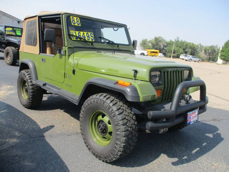 1988 Jeep Wrangler for sale at Advantage Auto Brokers Inc in Greeley CO
