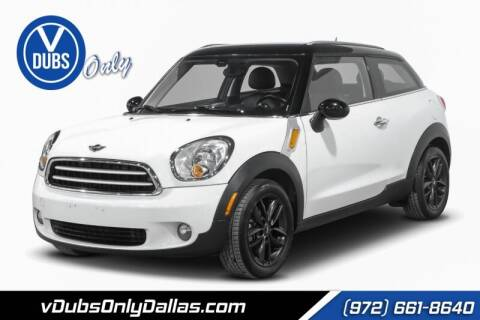 2013 MINI Paceman for sale at VDUBS ONLY in Dallas TX