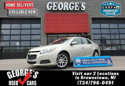2015 Chevrolet Malibu for sale at George's Used Cars - Pennsylvania & Allen in Brownstown MI