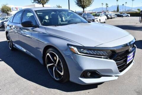 2021 Honda Accord for sale at DIAMOND VALLEY HONDA in Hemet CA