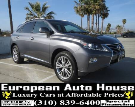 2013 Lexus RX 350 for sale at European Auto House in Los Angeles CA