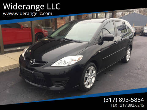 2009 Mazda MAZDA5 for sale at Widerange LLC in Greenwood IN