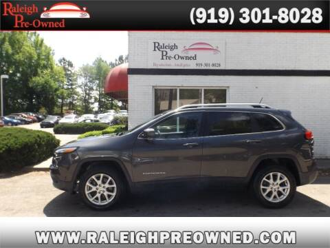 2015 Jeep Cherokee for sale at Raleigh Pre-Owned in Raleigh NC