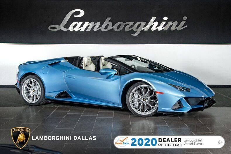 2020 Lamborghini Huracan for sale in Richardson, TX