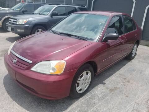2002 Honda Civic for sale at Ace Automotive in Houston TX
