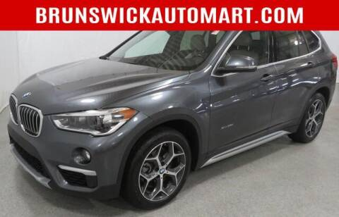 2017 BMW X1 for sale at Brunswick Auto Mart in Brunswick OH