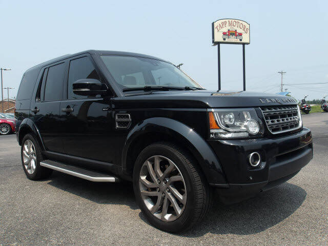 2016 Land Rover LR4 for sale at TAPP MOTORS INC in Owensboro KY