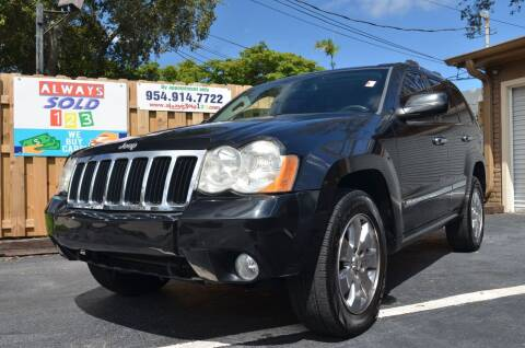 2010 Jeep Grand Cherokee for sale at ALWAYSSOLD123 INC in Fort Lauderdale FL
