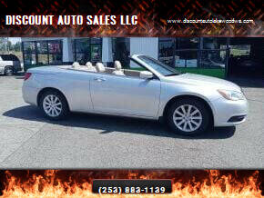 2012 Chrysler 200 Convertible for sale at DISCOUNT AUTO SALES LLC in Spanaway WA
