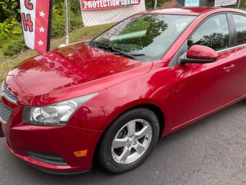 2012 Chevrolet Cruze for sale at Car VIP Auto Sales in Danbury CT