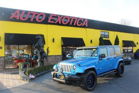 2016 Jeep Wrangler Unlimited for sale at Auto Exotica in Red Bank NJ