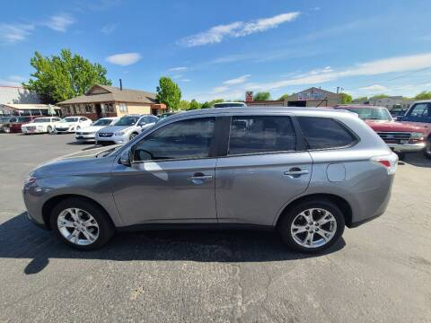 2014 Mitsubishi Outlander for sale at Silverline Auto Boise in Meridian ID