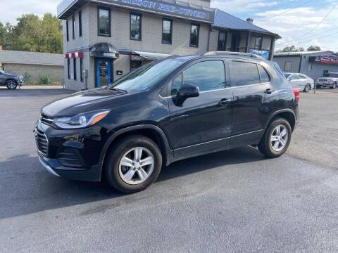 2018 Chevrolet Trax for sale at Sisson Pre-Owned in Uniontown PA