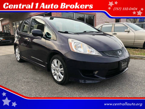 2010 Honda Fit for sale at Central 1 Auto Brokers in Virginia Beach VA