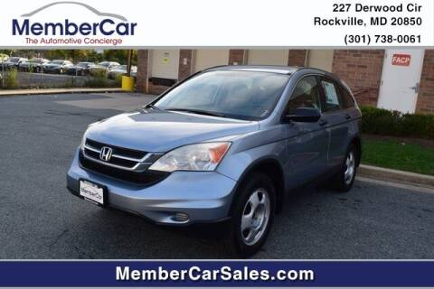 2010 Honda CR-V for sale at MemberCar in Rockville MD