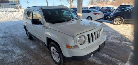 2014 Jeep Patriot for sale at Divine Auto Sales LLC in Omaha NE