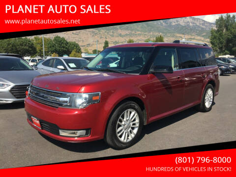 2014 Ford Flex for sale at PLANET AUTO SALES in Lindon UT
