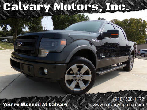 2013 Ford F-150 for sale at Calvary Motors, Inc. in Bixby OK