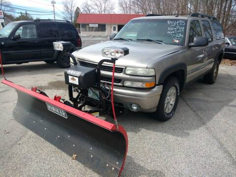 2002 Chevrolet Suburban for sale at Auto Brokers of Milford in Milford NH