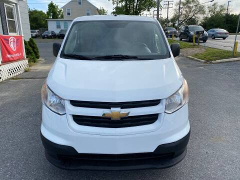 2015 Chevrolet City Express Cargo for sale at Fuentes Brothers Auto Sales in Jessup MD