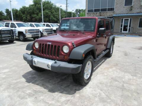 2010 Jeep Wrangler Unlimited for sale at Lone Star Auto Center in Spring TX