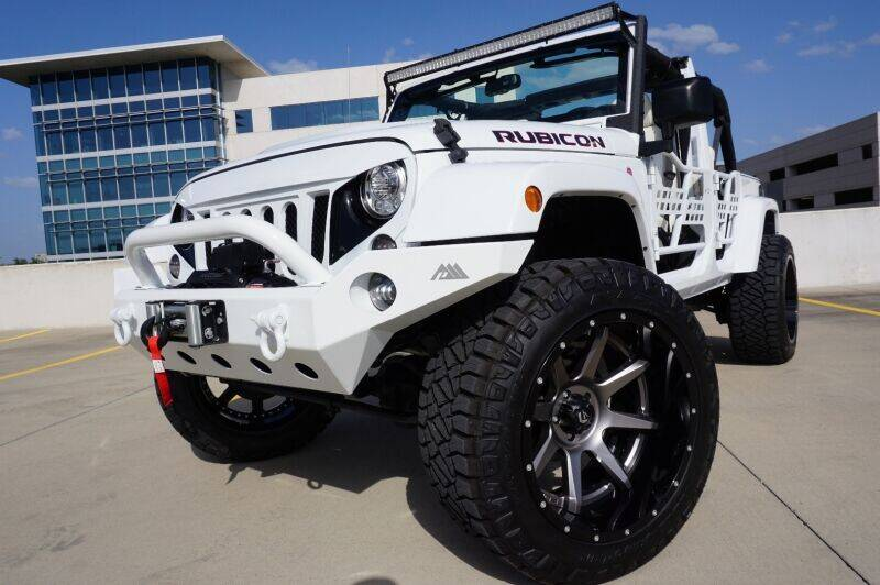 2017 Jeep Wrangler Unlimited for sale at JD MOTORS in Austin TX