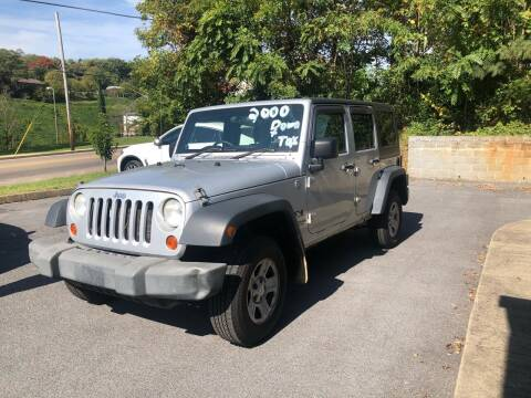 2009 Jeep Wrangler Unlimited for sale at Morristown Auto Sales in Morristown TN
