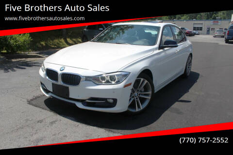 2013 BMW 3 Series for sale at Five Brothers Auto Sales in Roswell GA