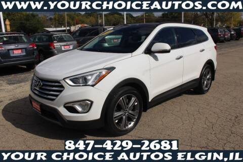 2014 Hyundai Santa Fe for sale at Your Choice Autos - Elgin in Elgin IL