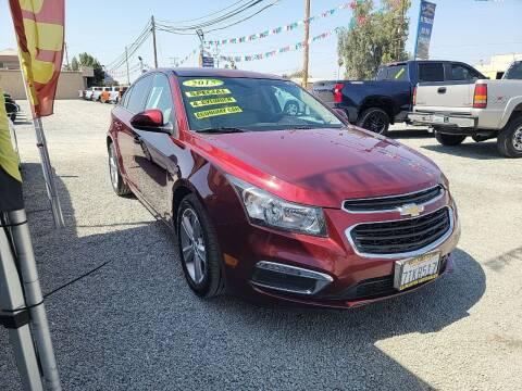 2015 Chevrolet Cruze for sale at La Playita Auto Sales Tulare in Tulare CA