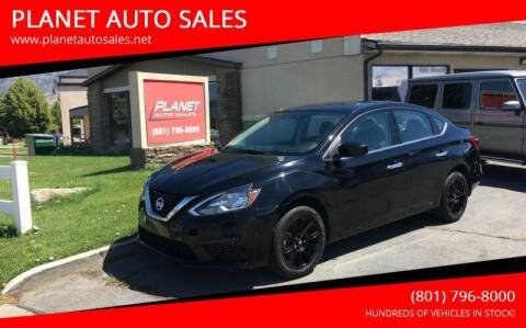 2016 Nissan Sentra for sale at PLANET AUTO SALES in Lindon UT