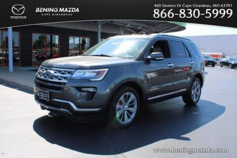 2018 Ford Explorer for sale at Bening Mazda in Cape Girardeau MO
