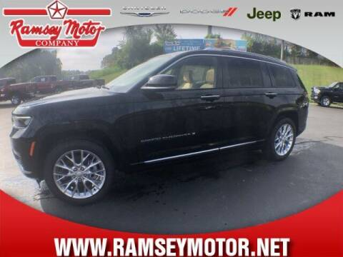 2021 Jeep Grand Cherokee L for sale at RAMSEY MOTOR CO in Harrison AR