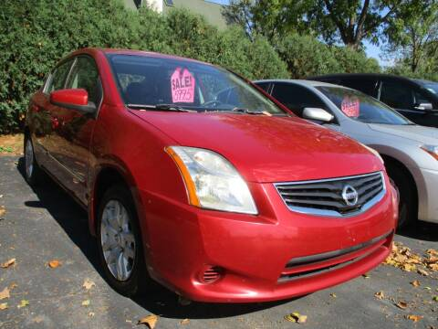 2012 Nissan Sentra for sale at SPRINGFIELD AUTO SALES in Springfield WI
