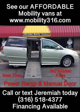 2007 Toyota Sienna for sale at Affordable Mobility Solutions, LLC - Mobility/Wheelchair Accessible Inventory-Wichita in Wichita KS