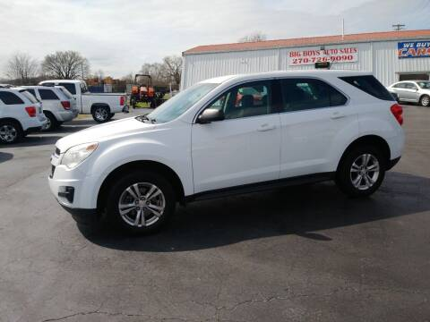 2013 Chevrolet Equinox for sale at Big Boys Auto Sales in Russellville KY