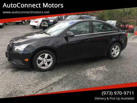 2012 Chevrolet Cruze for sale at AutoConnect Motors in Kenvil NJ