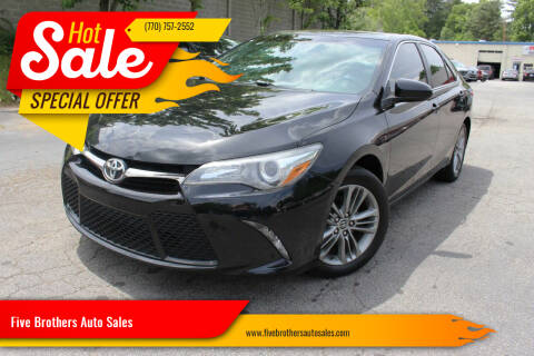2016 Toyota Camry for sale at Five Brothers Auto Sales in Roswell GA