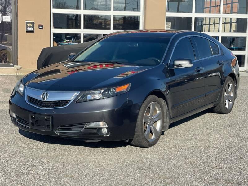 2012 Acura TL for sale at MAGIC AUTO SALES - Magic Auto Prestige in South Hackensack NJ