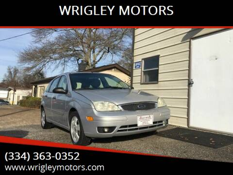2006 Ford Focus for sale at WRIGLEY MOTORS in Opelika AL