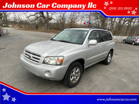 2005 Toyota Highlander for sale at Johnson Car Company llc in Crown Point IN