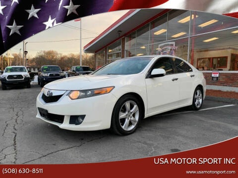 2009 Acura TSX for sale at USA Motor Sport inc in Marlborough MA
