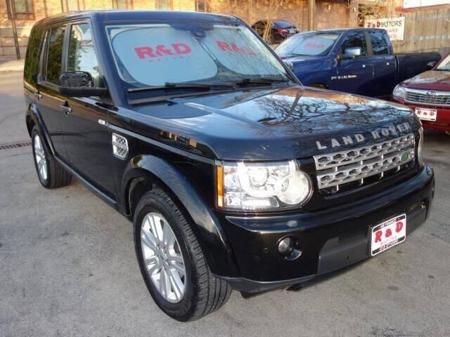 2011 Land Rover LR4 for sale at R & D Motors in Austin TX